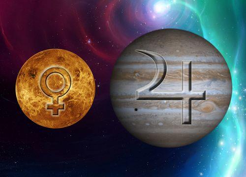 Jupiter and Venus in Leo